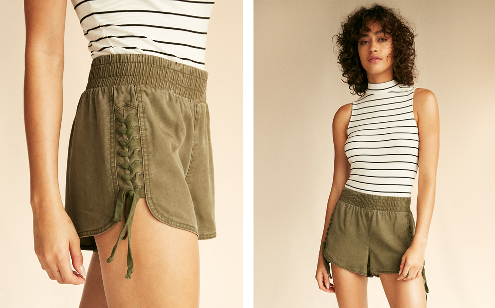 lace-up-shorts