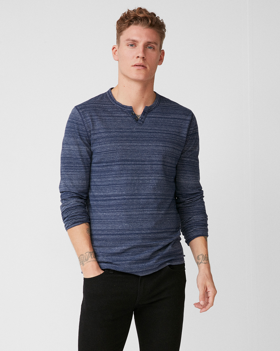 mens-striped-notch-neck-henley