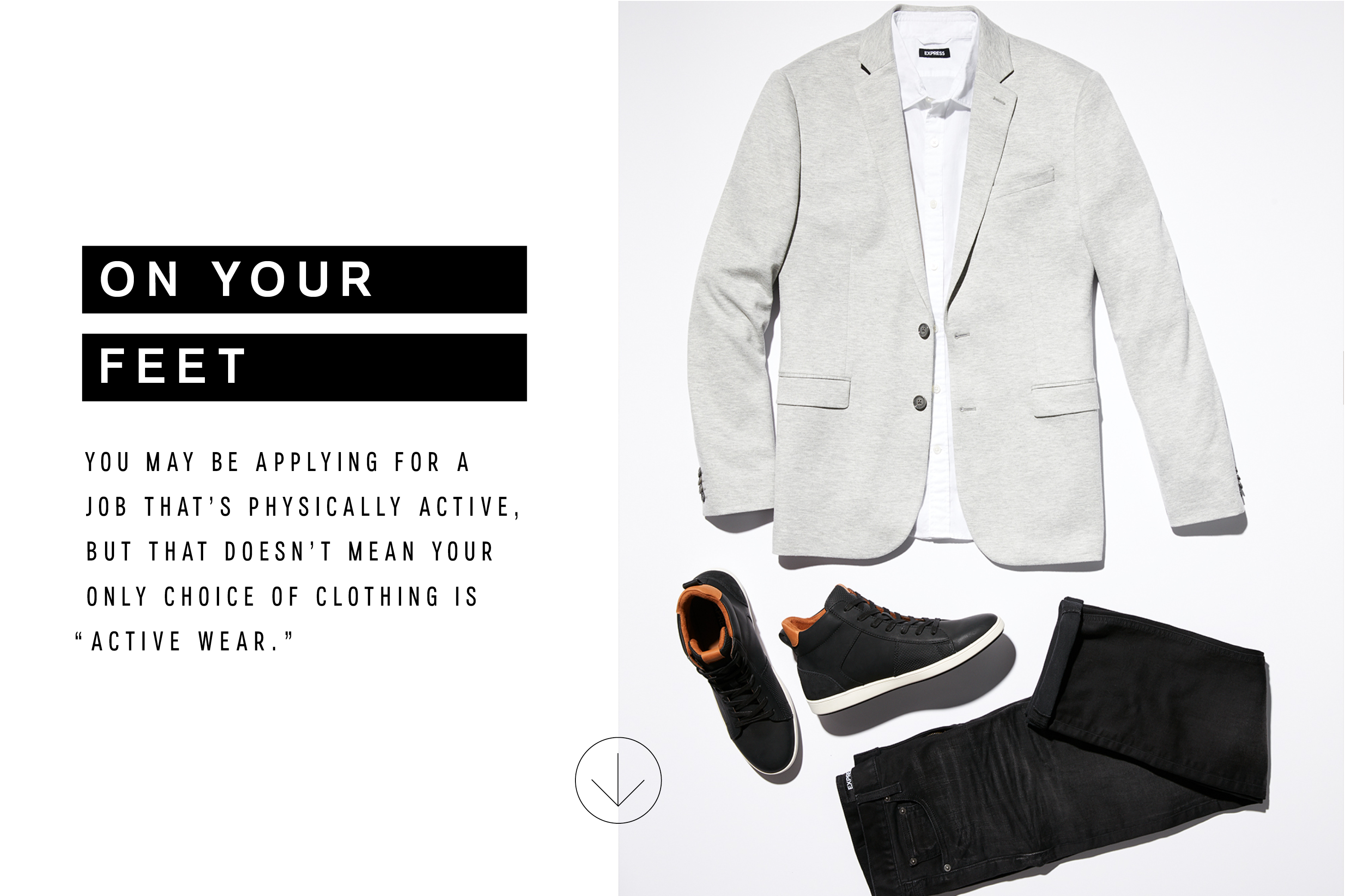 f7a8c508310 Menswear  What to Wear to Any Job Interview – The Edit x Express