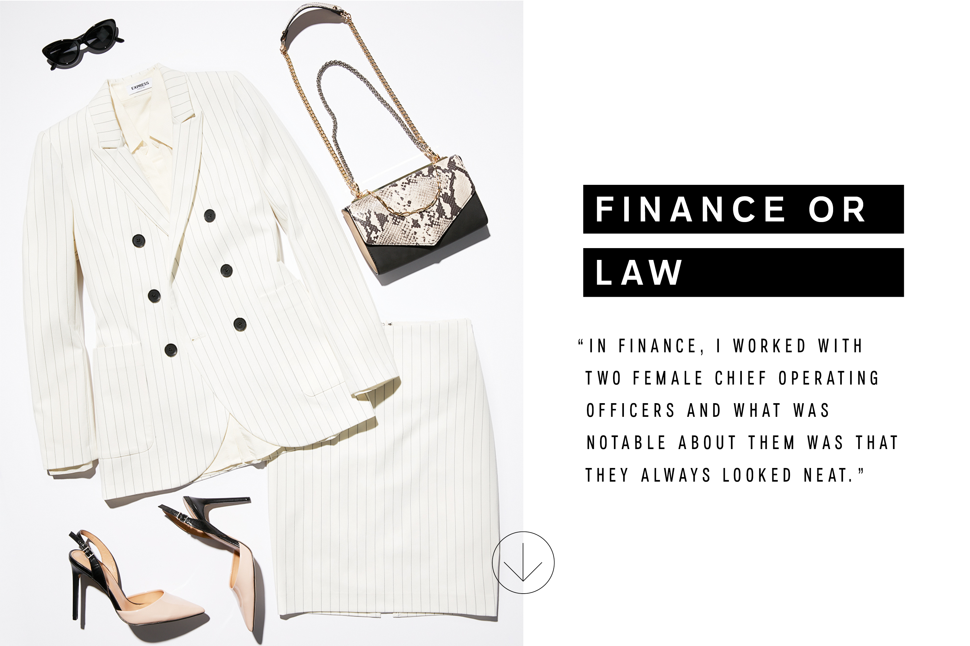b86d38df3d9ba6 Womenswear: What to Wear to Any Job Interview – The Edit x Express