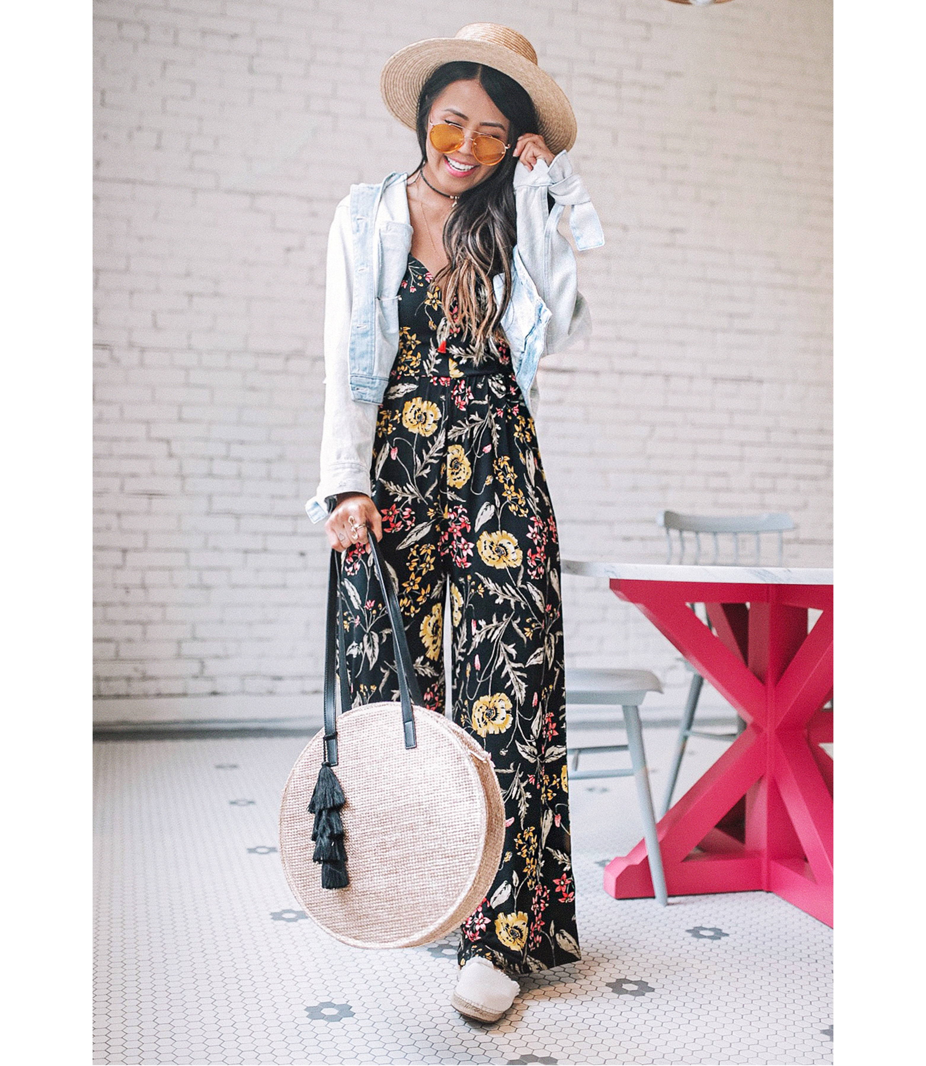 gypsy-tan-floral-jumpsuit