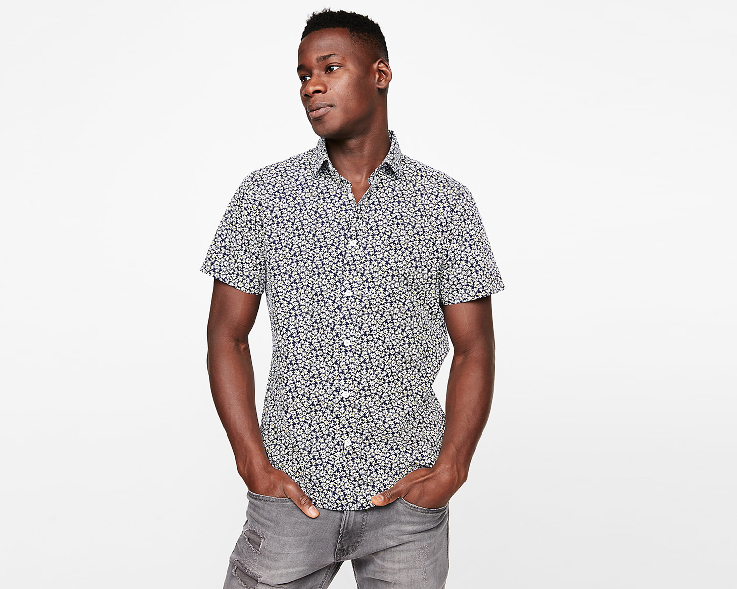 mens-microprint-short-sleeve-shirt