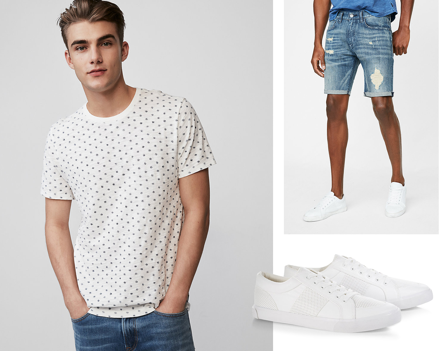 mens-microprint-tee-denim-shorts-low-top-sneakers