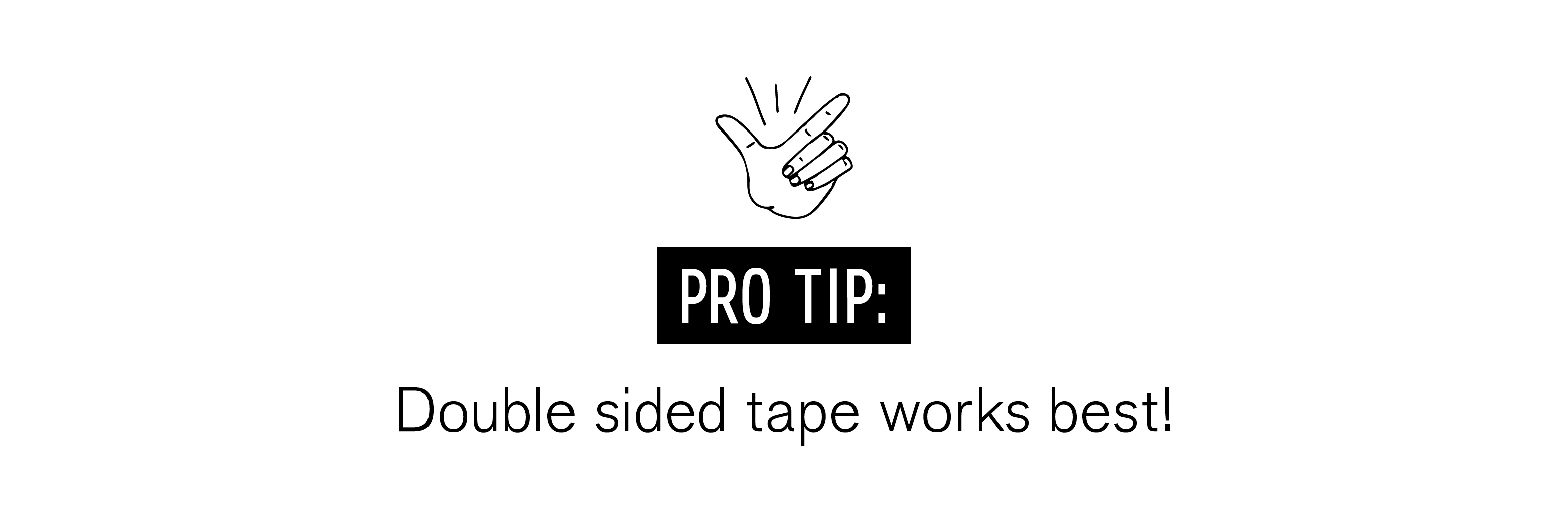 double-sided-tape-works-best