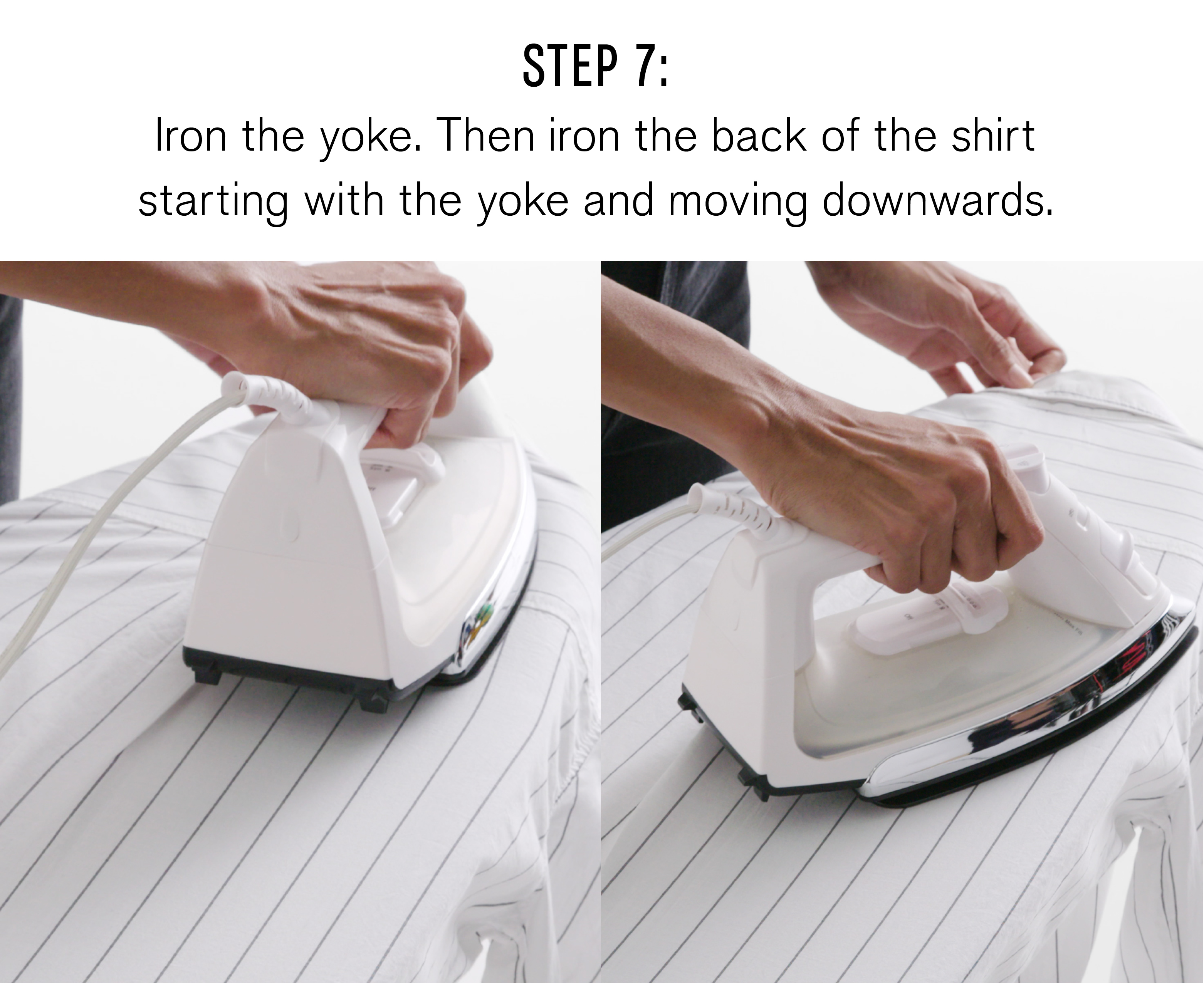 step-seven-iron-the-yoke-then-iron-the-back-of-the-shirt-starting-with-the-yoke-and-moving-downwards
