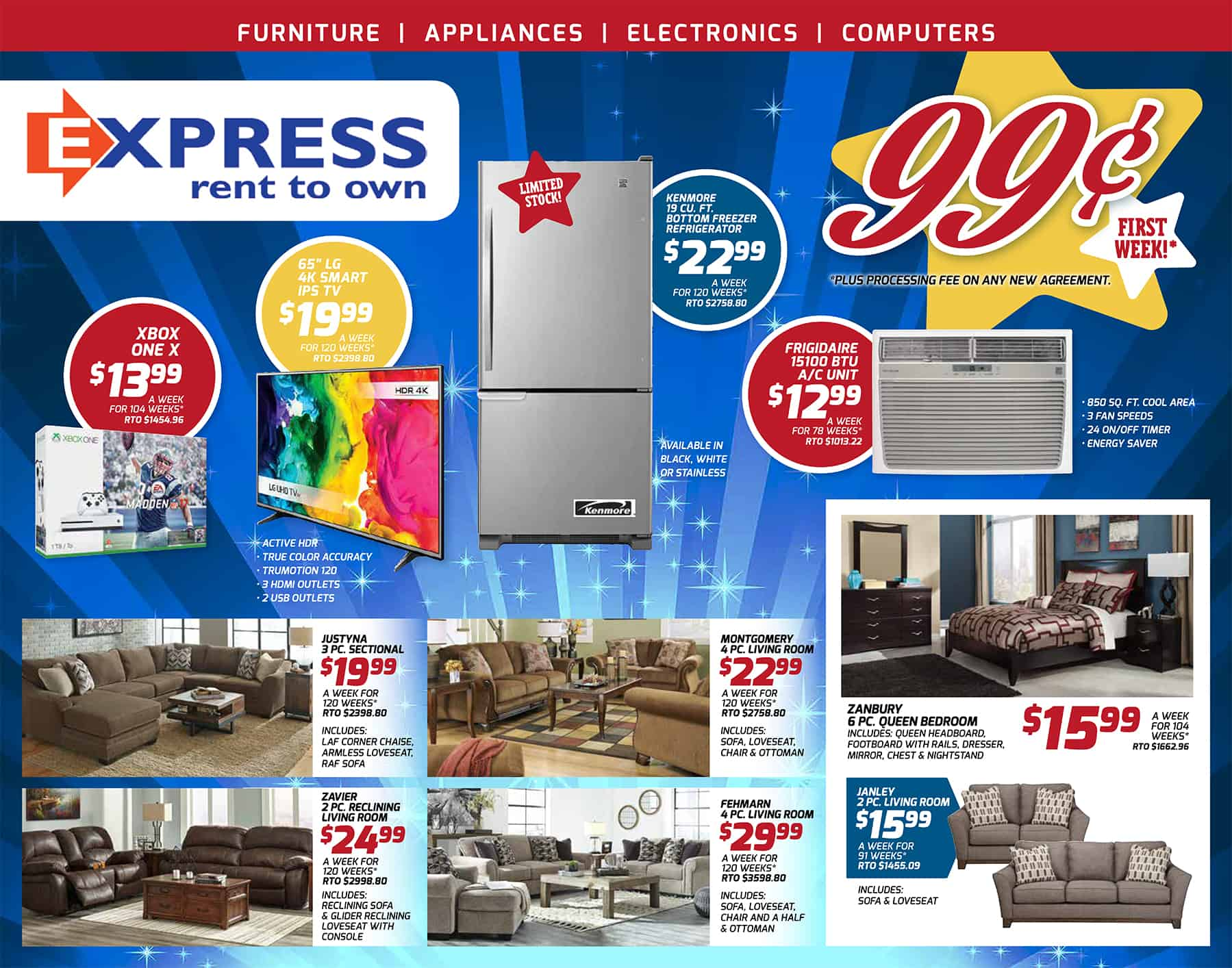 stores furniture dazzling for aaron your size rent to aarons residence king sets own bedroom intended design