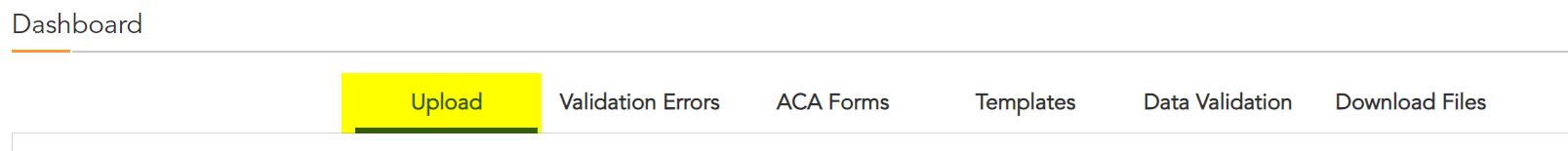 Upload corrected ACA data