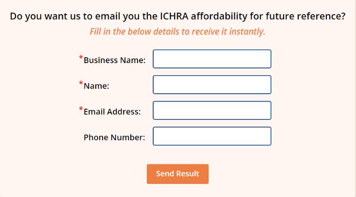 ICHRA affordability calculator