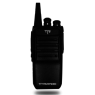 Titan Walkie Talkie 16ch (Includes 2 Batteries and Over Ear Headset)