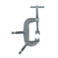 "C-Clamp 6"" w/ Baby Pin"