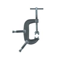 "C-Clamp 4"" w/ Baby Pin"