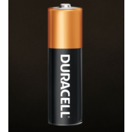 AA Duracell Coppertop battery - singles
