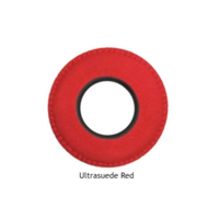 Small Round Microfiber Eye Cushions - Red