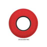 Large Round Microfiber Eye Cushions - Red