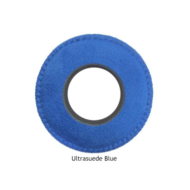 Large Round Microfiber Eye Cushions - Blue