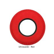 XL Round Microfiber Eye Cushions - Red