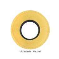 XL Round Chamois Eye Cushions - Natural