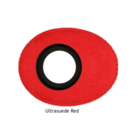 Small Oval Microfiber Eye Cushions - Red