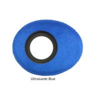 Small Oval Microfiber Eye Cushions - Blue