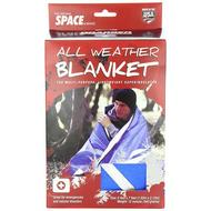 Space Blanket: Blue