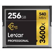 256GB Lexar 3600x CFast Card