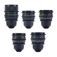 Zeiss Super Speed 5 Lens Set