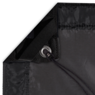 4x4 Black Silk Slip On