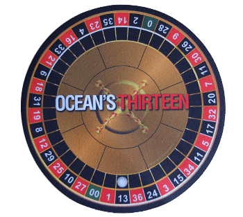 """Ocean's Thirteen"" Mouse Pad"