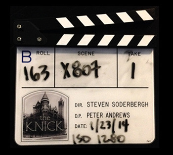 """""""The Knick"""" Clapper - B Roll"""
