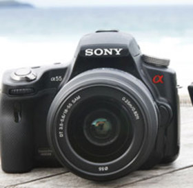 Sony alpha a55v 235x230 article