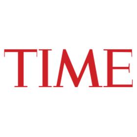 Time logo og article