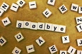 Goodbye  article