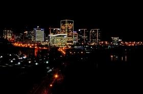 Nightime skyline article