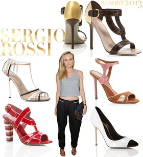 Sergio rossi shoes article