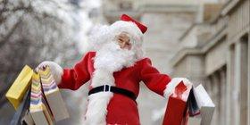 O santa shopping facebook article
