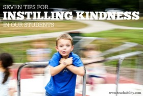 Instilling kindness in students article
