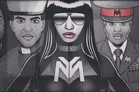 Nicki minaj only lyric video still billboard 650 article