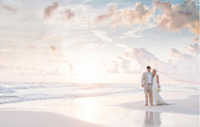 Seaside wedding main article