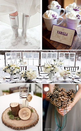 Winter wedding decor ideas article
