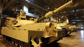 Abrams tank article