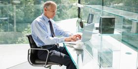 O mature sitting desk side facebook article