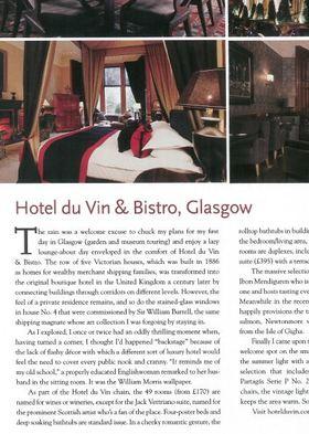 Hotel du vin by fredric hamber cigar aficionado article