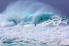 Surfer north shore article