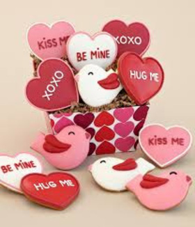 Valentines day hearts article