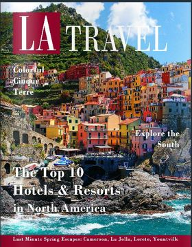 La travel spring 2014 cover article