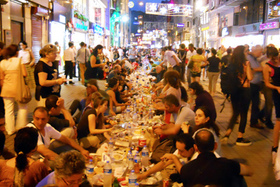 1058949 amid strife turks break fast together for ramadan iftar jennifer hattam article