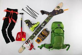 Mountain winter 2014 backcountry ski tour article