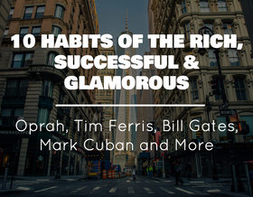 10 habit of the rich successful glamorous article