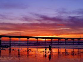 Sunset pier article