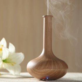 Woodgrain ultrasonic aromatherapy diffuser article